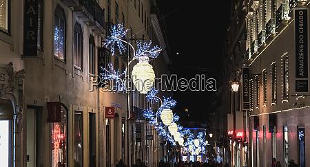 street, atmosphere, in, lisbon, at, night - 27959750