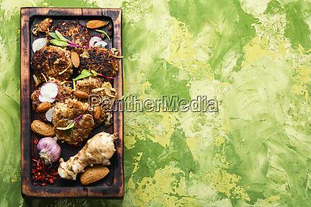 dietary vegetable cutlets
