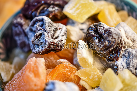 nuts with sugar and cocoa