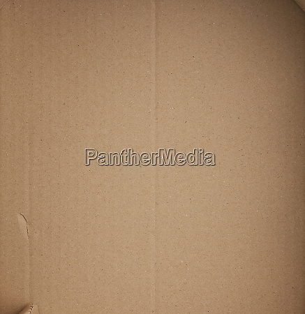 piece of smooth brown cardboard paper