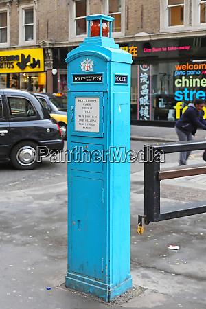 police telephone post