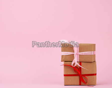 stack, of, gifts, in, boxes, wrapped - 27962520