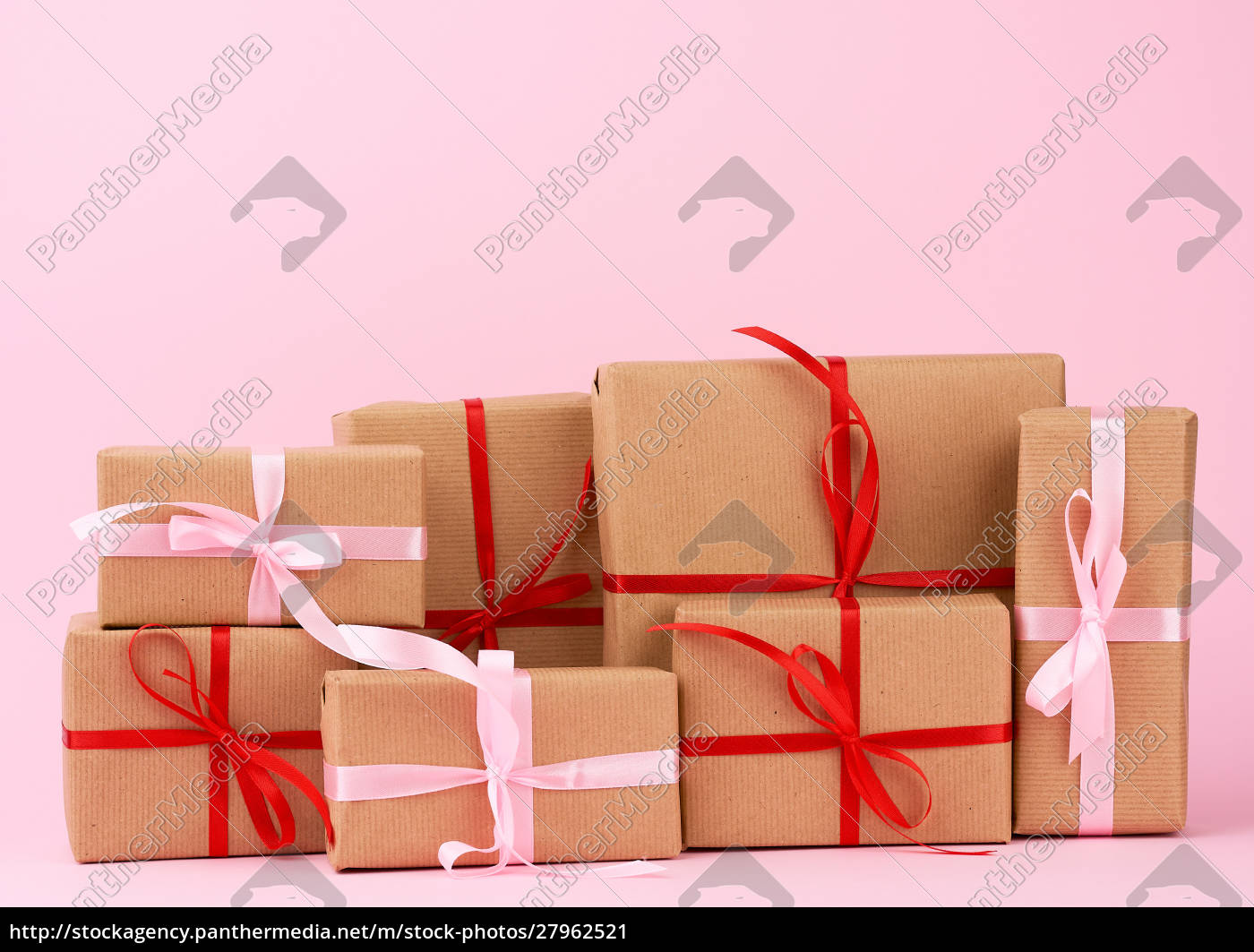 stack, of, gifts, in, boxes, wrapped - 27962521
