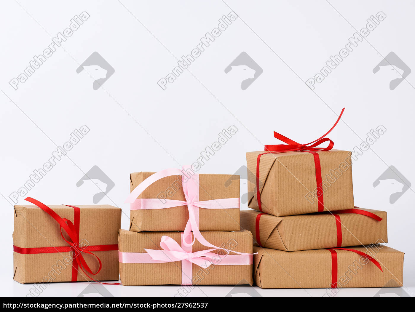 stack, of, gifts, in, boxes, wrapped - 27962537
