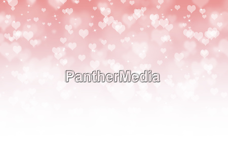 valentines day abstract background with hearts