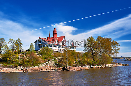 view on capitol of finnland city