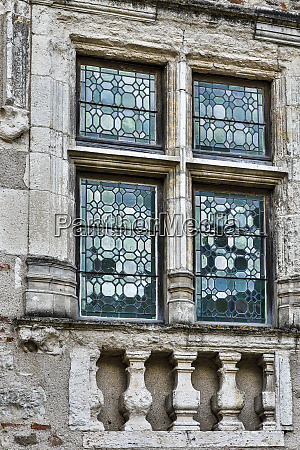 france cahors leaded glass windows