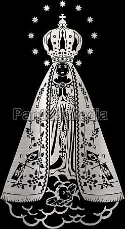 holy lady saint aparecida catholic