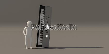 3d illustrator group of career musician