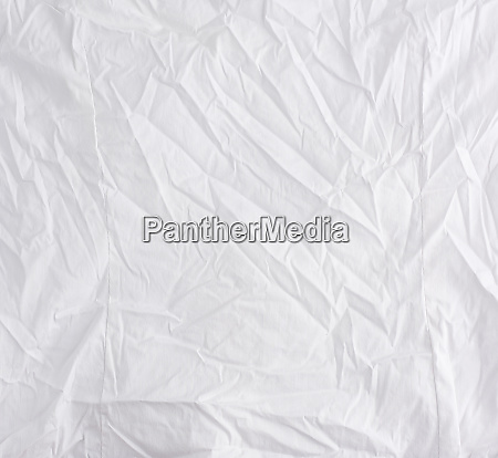 crumpled white cotton fabric fabric for