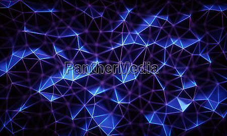 technology connection abstract background