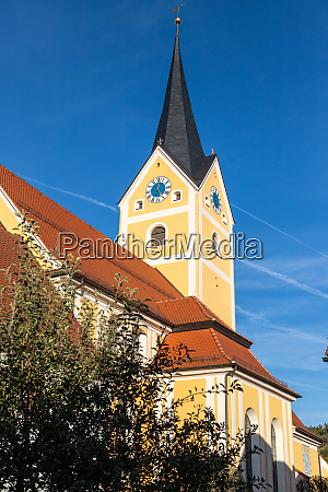 parish church assumption in berching bavaria