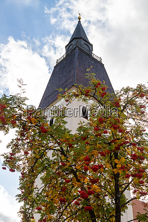 tower of the parish church of