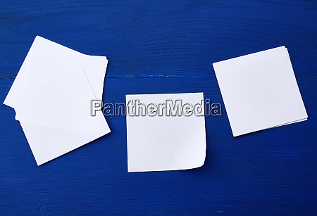 empty white sheet of paper on
