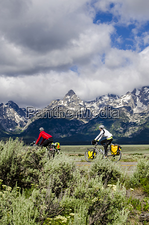 bicycling in grand teton national park