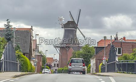 windmill in frisia