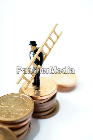 lucky charm chimney sweep with ladder