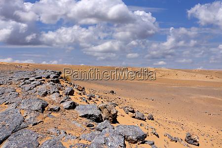 sahara desert rocks
