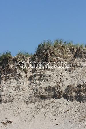 sandy slope