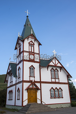 husavik church iceland