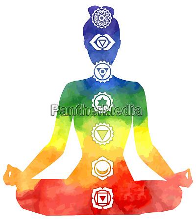 yoga healing chakras mindfulness spiritual meditation