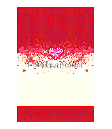 stylish card valentine wedding anniversary