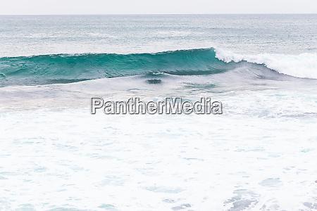 ocean coast moviment waves with foam