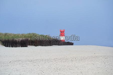 beach landscape helgoland duene