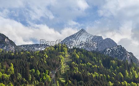 alpspitze garmisch partenkirchen bavaria germany
