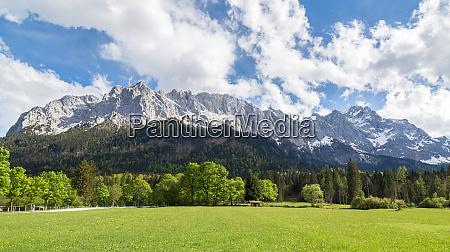 wettersteingebirge garmisch partenkirchen bavaria germany