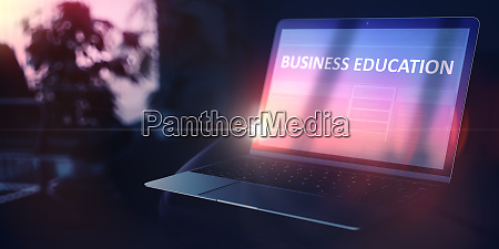 continuing education concept business education on