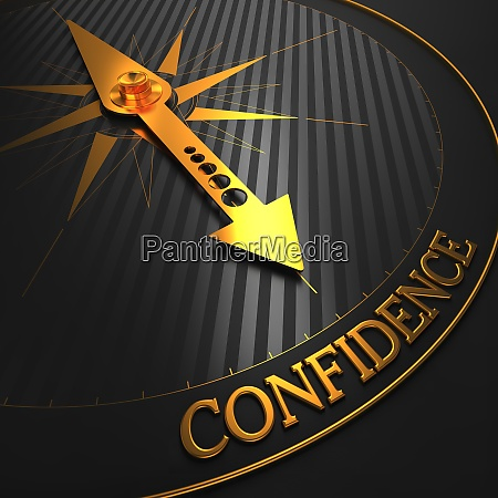 confidence business background