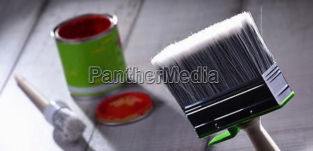 medium size paintbrush for home decorating