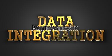 data integration information concept