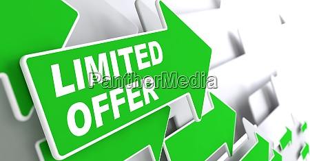 limited offer business concept