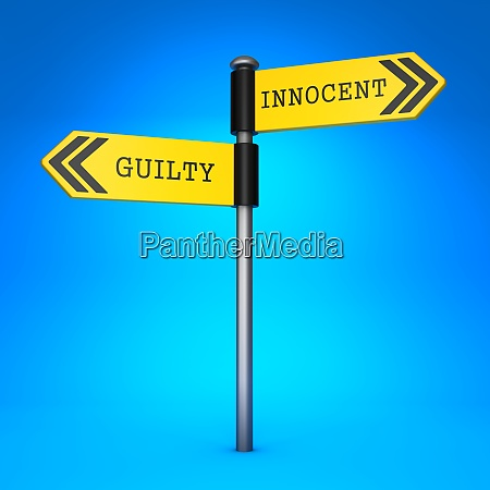 innocent or guilty concept of choice