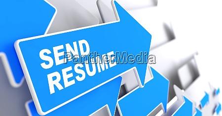 send resume business background