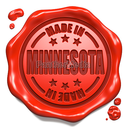 made in minnesota stamp on
