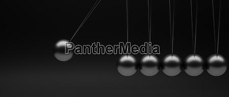 newtons pendulum minimalist image background