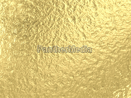 3d render image of gold metallic