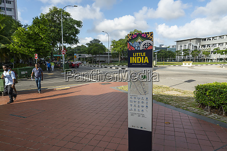 little india neighborhood in singapore