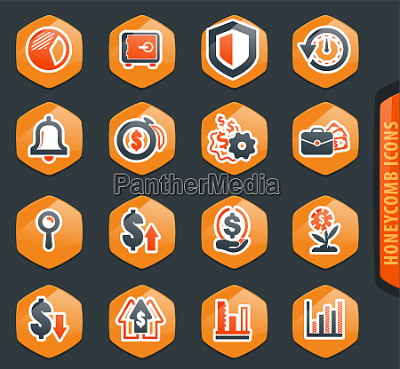 business icons set