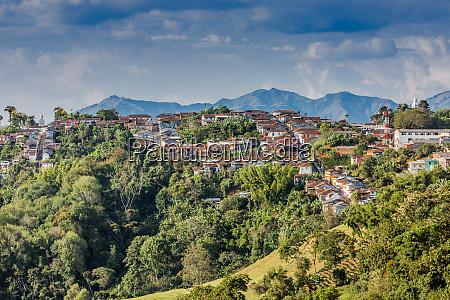 salamina cityscape skyline caldas colombia caldas