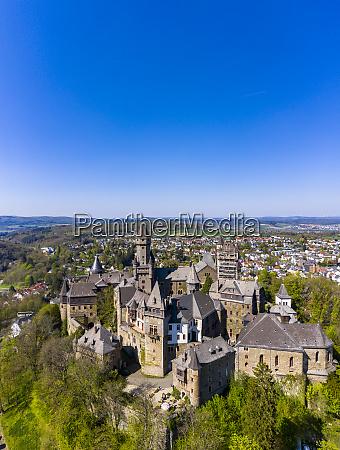 germany hesse braunfels clear blue sky