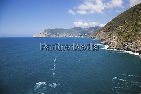 mediterranean sea liguria cinque terre italy
