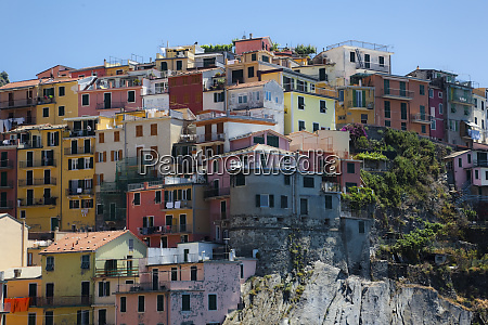 townscape of manarola liguria cinque terre