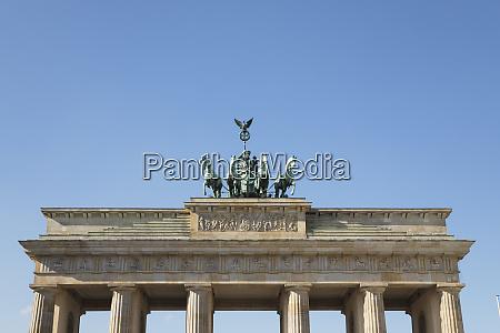 germany berlin low angle view ofbrandenburg