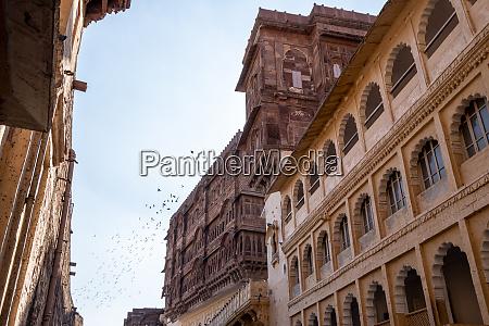 mehrangarh fort various palaces