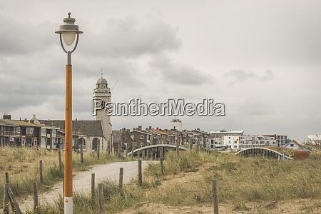 netherlands south holland katwijk townscape