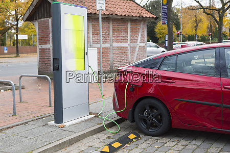 germany electric car recharging